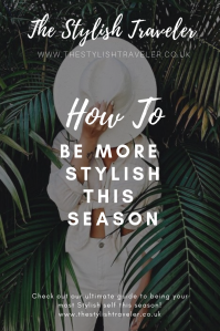 How to be More Stylish This Season